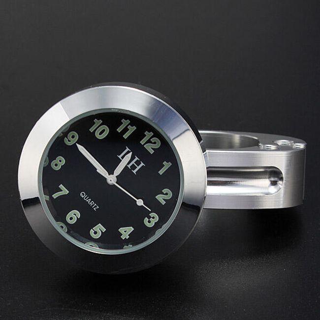 Analogni sat za motor - hromirani 1