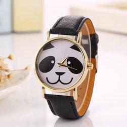 Roztomilé hodinky s obličejem pandy