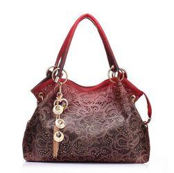 Ženska torba sa originalnom dekoracijom - 4 boje