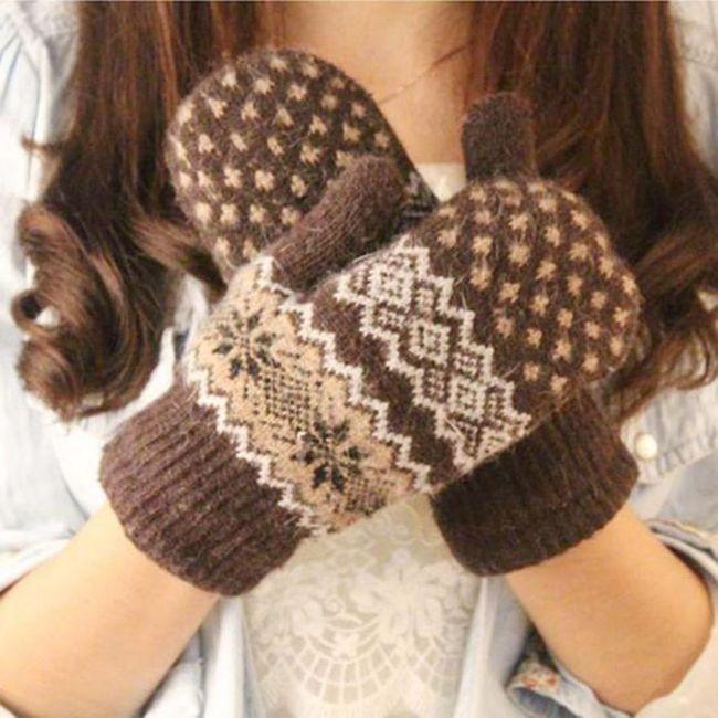 Ženske zimske rukavice Monica 1