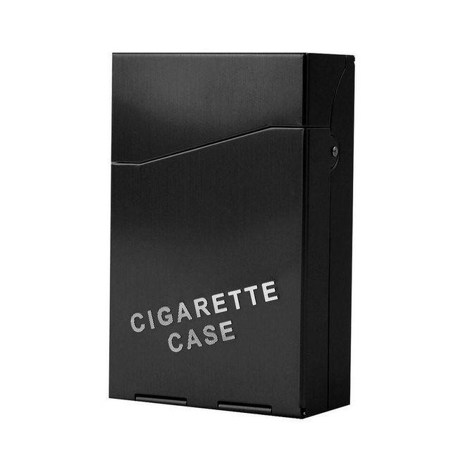 Kovová krabička na cigarety - 4 barvy 1