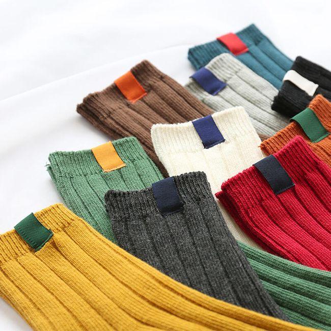 Dámské zateplené ponožky 1