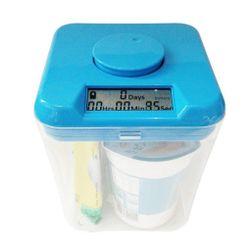 Cutie bucătărie cu temporizator, albastru PD_1624258