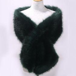 Dámská šála z umělé kožešiny - více variant
