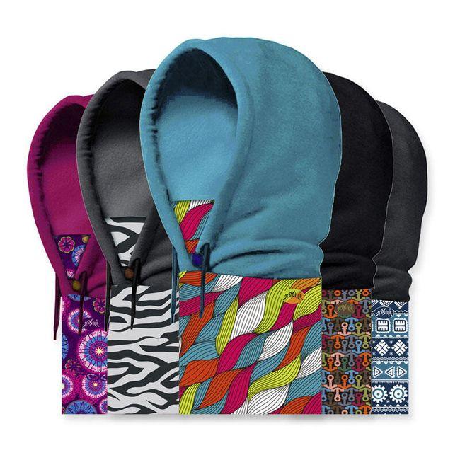 Pánská čepice barevná - na hory 1