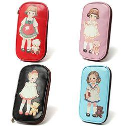 Penál či kosmetická taštička s motivem holčičky