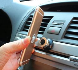 Магнитен държач за телефон в колата - 2 цвята