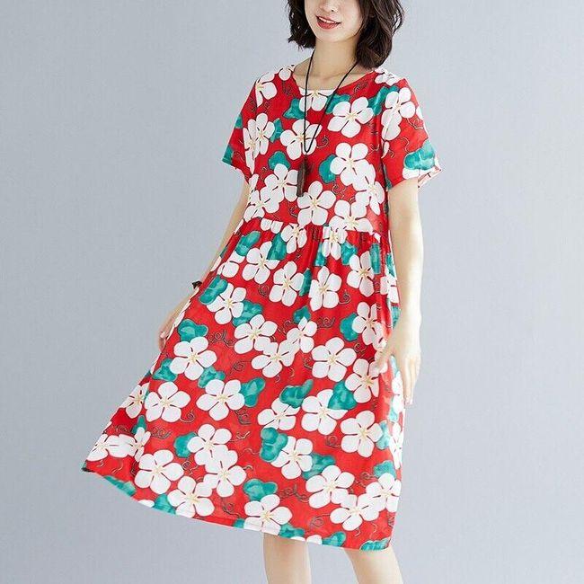 Лятна рокля Sizzie 1