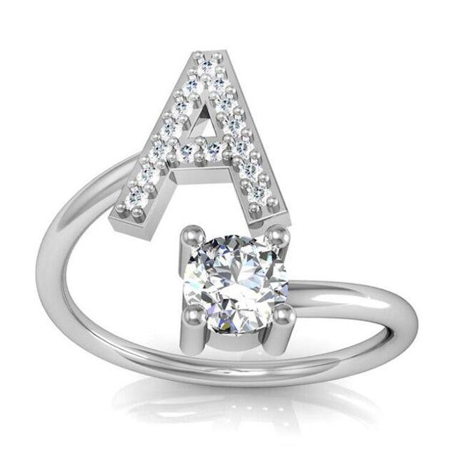 Ženski prsten A-Z 1