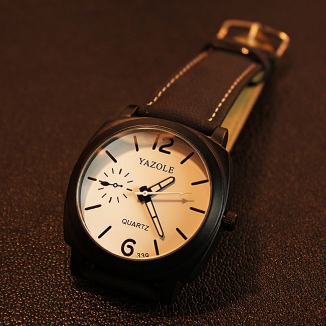 Pánské hodinky s luminiscenčními ručičkami 1