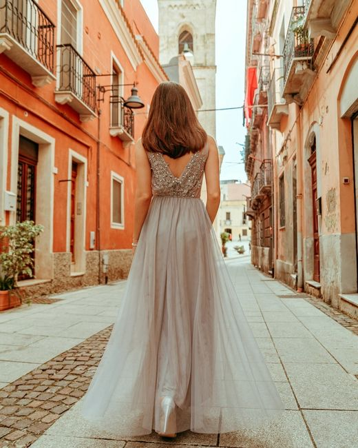 Női estélyi ruha Caira