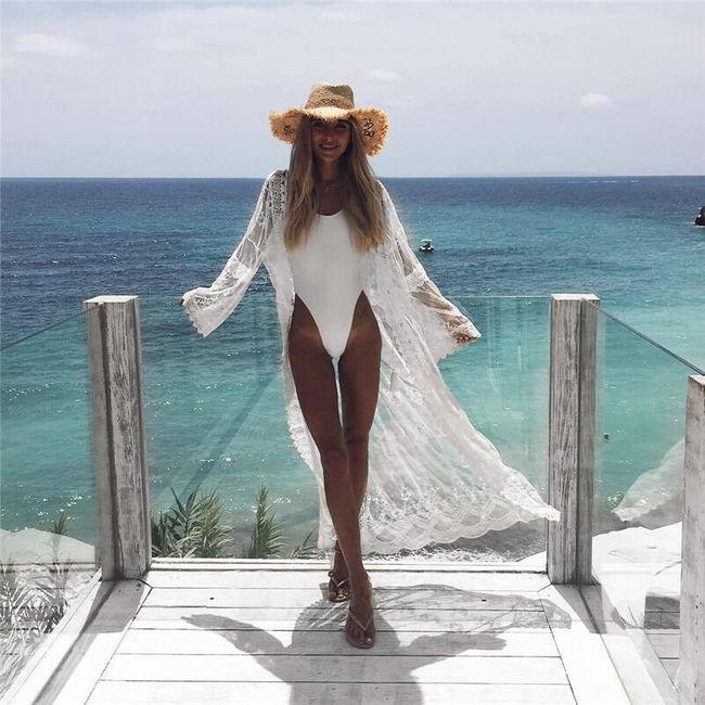 Пляжное платье Mae 1