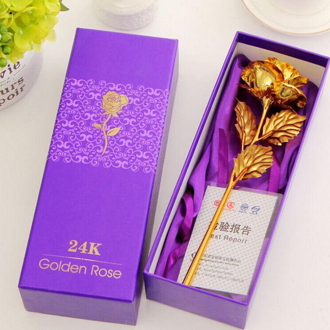 Dekorativna roža v škatli 1
