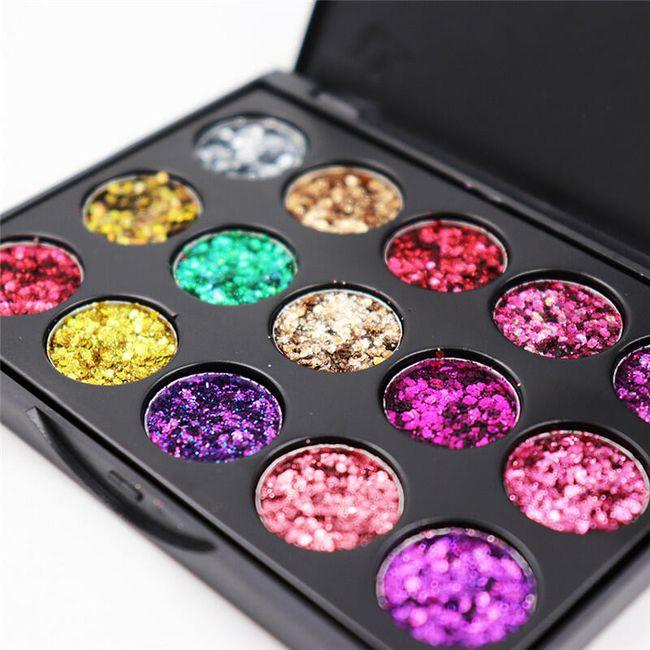 Senke za oči Glitter 1