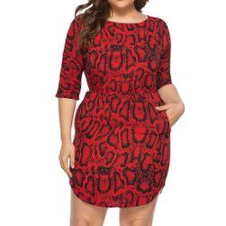 Dámské plus size šaty TF7545