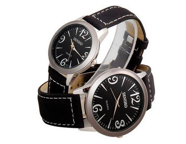 Sada pánských a dámských hodinek ve shodném designu 1