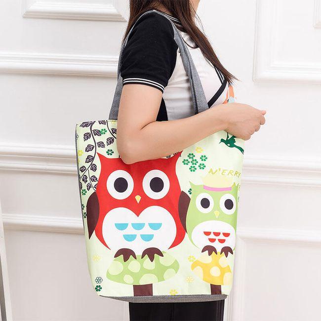 Dámská taška - sovy 1