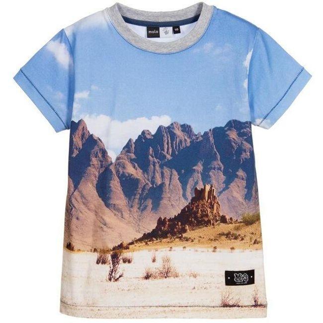 Chlapecké tričko s přírodním motivem 1
