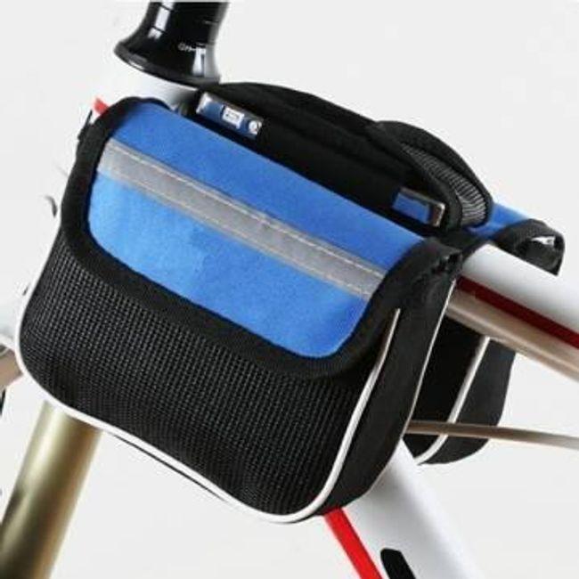 Torbica za okvir kolesa - modra 1