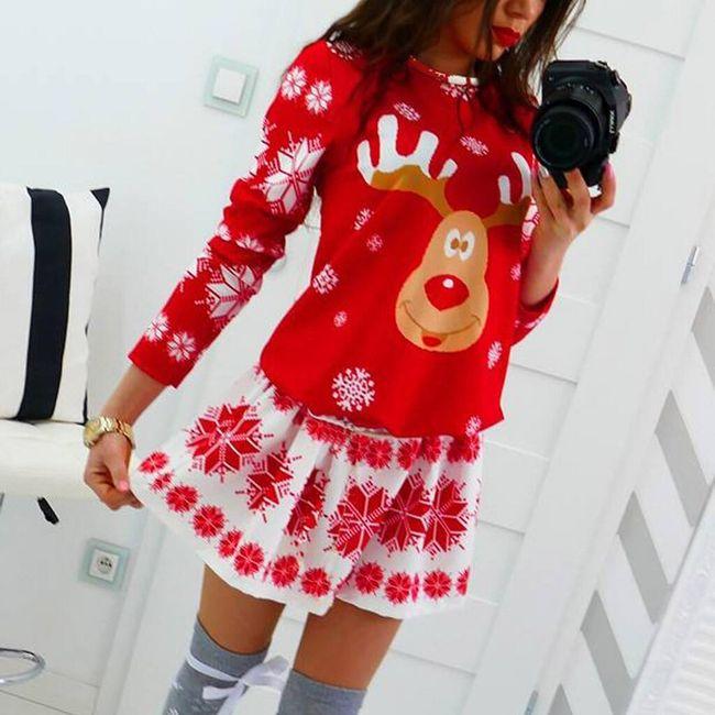 Dámské vánoční šaty Chloe 1