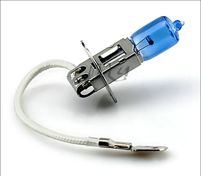 Modrá autožárovka H3 - 55W 1