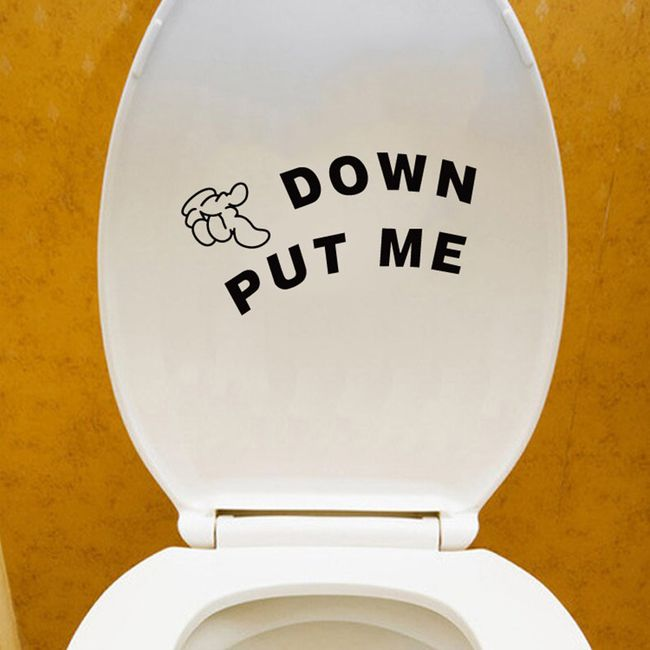 Vicces matrica wc-re -  PUT ME DOWN 1