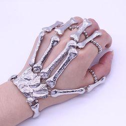 Eredeti karkötő - csontváz csukló és az ujjak