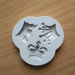 Szilikon forma királyi korona formában