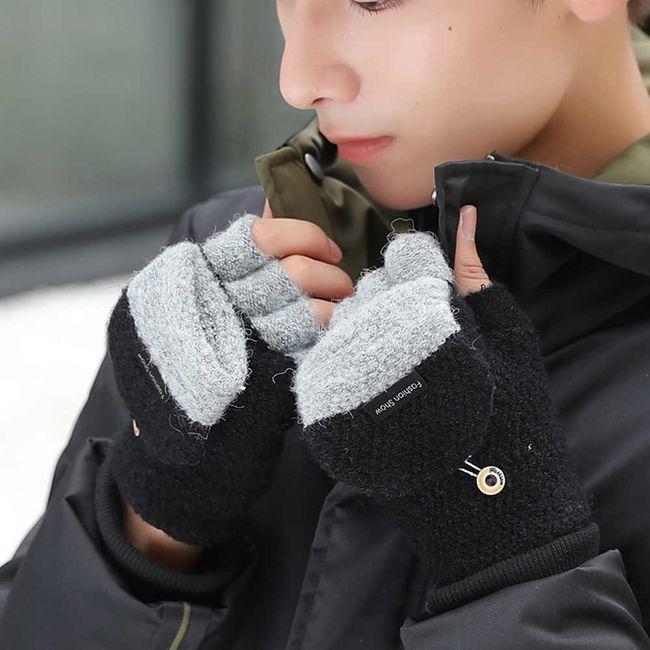 Férfi téli kesztyű OL82