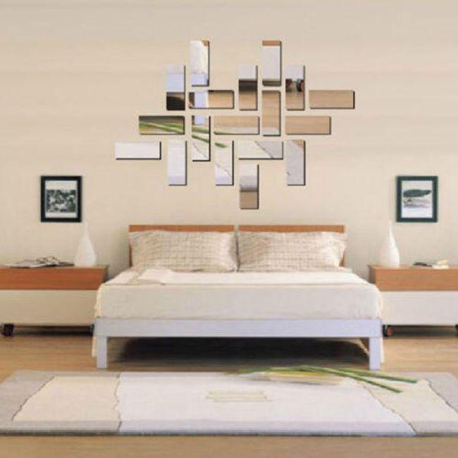 Tükör matrica falra - osztott kép 1
