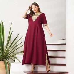 Damska plus size sukienka TF2743