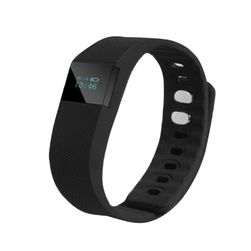 Silikonové hodinky s krokoměrem  - digitální - 6 barev