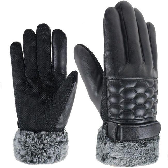 Męskie zimowe rękawice Rhys 1