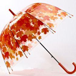 Deštník s podzimními listy - 4 barvy