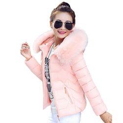 Elegantna jakna s krznom