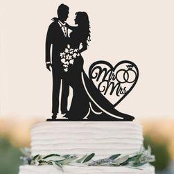 Dekorace na svatební dort