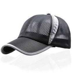 Przewiewna letnia czapka z daszkiem - 8 kolorów