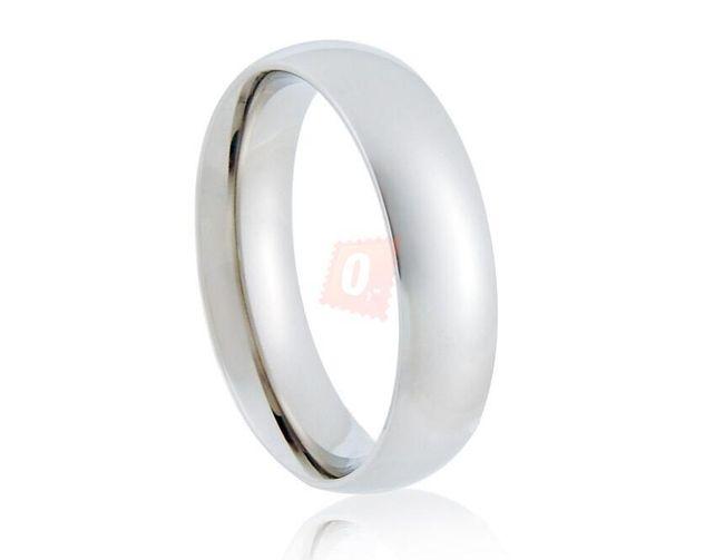 Prstýnek elegantního vzhledu - stříbrná barva 1