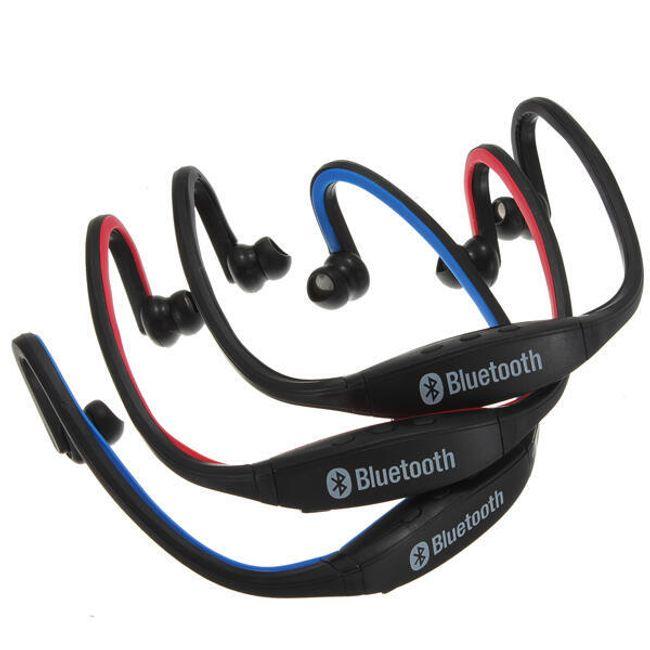 Bluetooth stereo headset - bezdrátová sportovní sluchátka s mikrofonem pro mobilní telefony 1