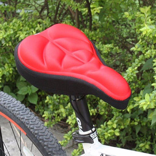 Udobna prevleka za kolesarsko sedlo 1