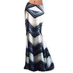 Dugačka boemska suknja