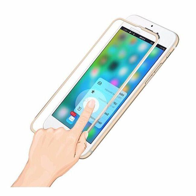 Tvrzené sklo s kovovým rámem pro iPhone 7 1