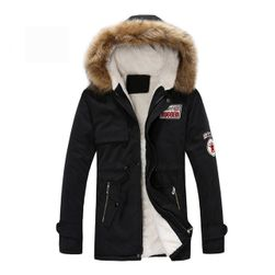 Muška topla jakna Calvin Crna-M