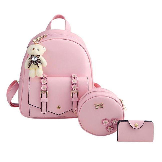 Ranac sa torbicom i futrolom za devojke Terry 1