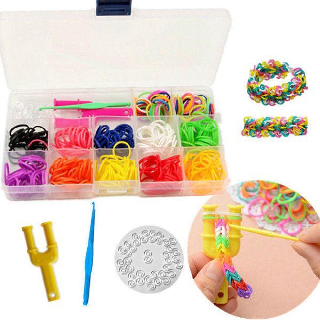 Разноцветный набор для создания браслетов 1