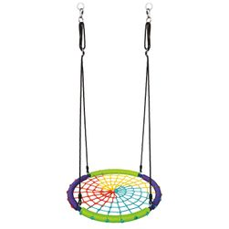 Dětská houpací kruhová rohož, barevná RS_82741