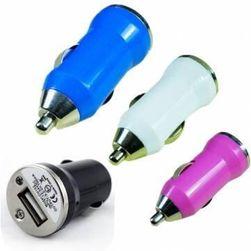 Mini ładowarka samochodowa USB w 4 kolorach