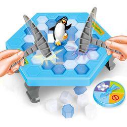 Tučňák v pasti - hra pro děti