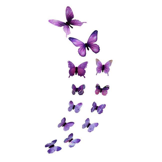 Декоративные светящиеся бабочки Emily 1