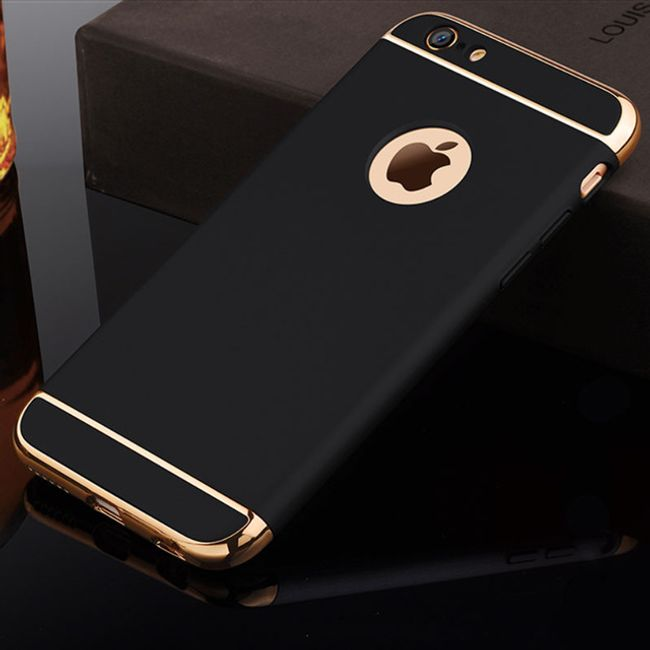 Luksuzen trdi ovitek za različne tipe iPhone - 5 barv 1